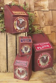 Rooster canisters