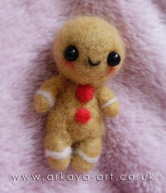 PVT with marce280* (felted gingerbread man) - sent by Capt. arkaya, via Flickr