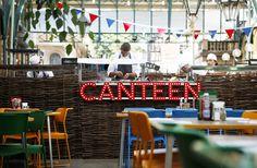 canteen pop-up, covent garden