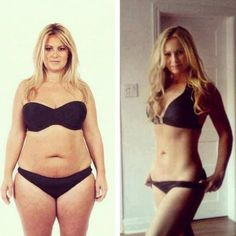 Awesome Before and After Weight Loss Picture