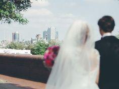 Sylvia & Daniel: Urbane Märchenhochzeit am Wasser