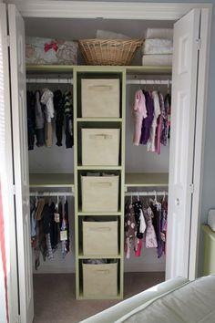 Another closet organization idea