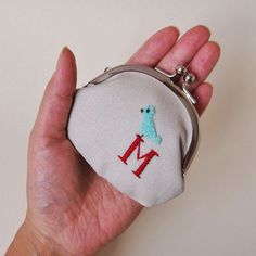 personalized coin purse from oktak