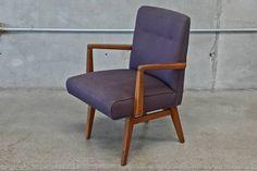 Walnut armchair by Jens Risom. $150