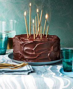 Triple-Layer Chocolate-Caramel Cake Recipe