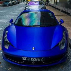 #mulpix Matte Blue 458(@louis_bennett01) - Use  #xoticsupercarz or Send Me Pics To Have a Chance To Be Featured!!! -  #Ferrari #Ferrari458 #458 #Matte #Supercar #Hypercar #SportsCar #Megacar #Luxury #xoticsupercarz