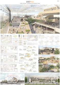 Aesthetic design is a experience. Concept Board Architecture, Architecture Presentation Board, Architecture Panel, Japanese Architecture, Futuristic Architecture, Sustainable Architecture, Landscape Architecture, Landscape Design, Architecture Diagrams