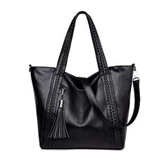 2e63e7e00b JAYLINNA Large Capacity Ladies Shoulder Bag Purses and Handbags Top Handle Satchel  Tote Purse with Tassel for Women -- Check out this great product.