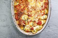 vegan zucchini ricotta bake