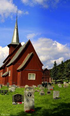 Hegge Stavkirke, Hegge, Norway