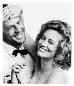 Bruce Willis and Cybill Shepherd - Moonlighting