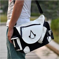 Assassins Creed Messenger Shoulder Bag //Price: $45.00 & FREE Shipping //     #assassinscreed