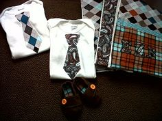 easy baby boy gifts... Love the colors and patterns. Just because it is for a baby doesn't mean it needs to be pastels!