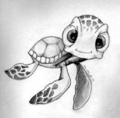 Easy Disney Drawings, Disney Drawings Sketches, Cute Sketches, Cute Drawings, Drawing Disney, Disney Character Sketches, Disney Characters, Disney Princesses, Tattoo Sketches