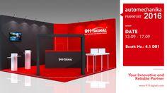 Automechanika Frankfurt 2016; Booth No.: 4.1 D81