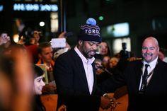 TIFF Red Carpet: Method Man salutes Toronto (via pom-pom hat) on the red carpet for The Cobbler Method Man, Adam Sandler, Another Man, Pom Pom Hat, Cobbler, Red Carpet, Baseball Hats, Film, Fashion