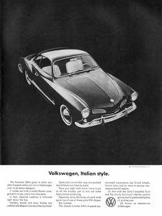1964 Karmann Ghia Ad