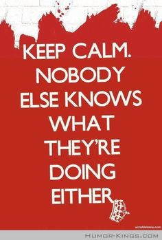 Keep Calm I like this when it comes to raising kids everyone is just doing their best