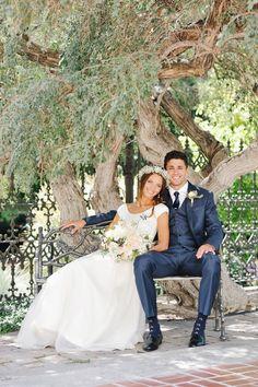 Pretty Peach   Navy Wedding   photography by http://rebekahwestover.com (via @Elizabeth Anne Designs)