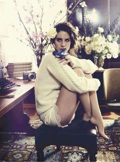 Lana Del Rey by Nicole Bentley for Vogue Australia, October 2012