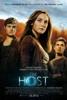 The Host (2013) - Adventure | Romance | Sci-Fi - When an unseen enemy threatens mankind by taking over their bodies and erasing their memories, Melanie will risk everything to protect the people she cares most about, proving that love can conquer all in a dangerous new world. Stars: Saoirse Ronan, Max Irons, Jake Abel ♥♥♥