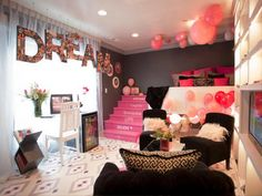 Super cute room ideas to decorate your girls bedroom. Girls Bedroom, Teen Girl Rooms, Teenage Girl Bedrooms, Bedroom Decor, Bedroom Ideas, Teenage Room, Small Bedrooms, Bedroom Designs, Kids Rooms