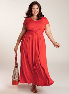 Several Sexy Plus Size Maxi Dresses To Complete Your Summer Wardrobe -