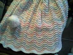 Ravelry: Project Gallery for Feather and Fan Stitch, or Old Shale pattern by Barbara G. Walker