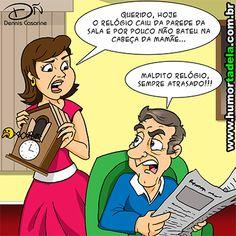 O Maior Site de Humor da América Latina está de volta! Acesse e curta todas as novidades!