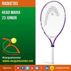 Visitanos en: http://www.racquetcenter.net/  Nombre del producto: Head Maria 23 Junior  Características del producto: Weight 190 g - 6.7 oz Beam 18,5 mm Head size 690 cm² - 107 in² Length 585 mm String pattern 16/19 Colors purple/white #Head #racquetcenter #Tennis #Tenis #GrapheneSpeed #Graphene #Racquet #Raqueta #Caracas #Venezuela