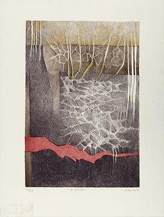 Renina Katz, 'A Estrada', litografia, c.i.d., 24/50, 37.30 x 25.50 cm., 1990.