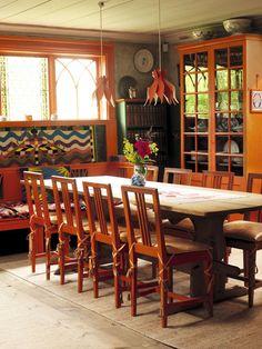 The Dining Room, Carl Larsson-gården, Sundborn