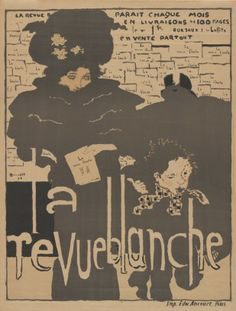 For Sale on - Pierre Bonnard 1894 La Revue Blanche Art Nouveau poster. Pierre Bonnard (French, La Revue Blanche, 1894 Lithograph in colors on wove paper Printed Vintage French Posters, Poster Vintage, French Vintage, French Art, Vintage Ads, Art Nouveau Poster, Poster Art, Retro Poster, Art Posters