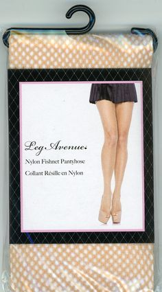 Nude fishnet pantyhose, one size fits all, $4.95