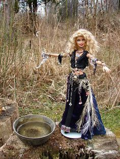 Pagan Barbie. Love it.