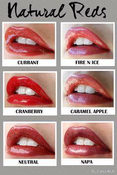 Natural reds Distributor 197061 www.SeneGence.com/TimelessEleganceByTara