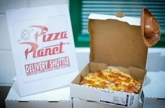 Pizza Planet Delivery!  #pizzaplanet #toystory