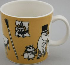 Muumimuki Toimisto - Muumimukihaku.fi Moomin Mugs, Tove Jansson, Cups, Dishes, Decorating, Tableware, Stuff To Buy, Decor, Mugs