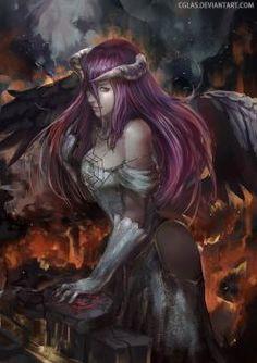 DeviantArt: More Like Overlord Anime Wallpaper HD Albedo by corphish2