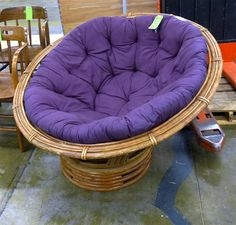 Moon chair on pinterest papasan chair hanging chairs and rattan