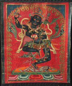 Krodha Kali (Vajrayogini) Tibet, circa 1600-1699.   Nyingma and Buddhist Lineages