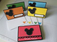I Heart Mickey and Minnie: Mini Note Cards with Box