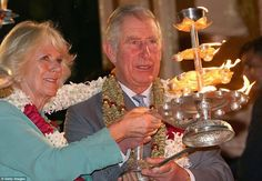 PRINCE CHARLES AND CAMILLA TAKE PART IN PERFORMING GANGA AARTI IN INDIA Prince Charles and the Duchess of Cornwall tonight took part in a solemn ceremony of thanks with Hindus on the banks of the River Ganga. In the holy Hindu city of Rishikesh, the prince led his wife by the hand to the banks of the sacred river where they joined Hindu worshippers conducting the Aarti ceremony  Read it here: http://www.dandavats.com/?p=12044
