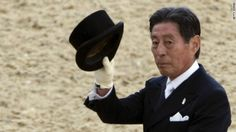 Who says an Olympic athlete has to be young to be spry? Seventy-one-year-old Hiroshi Hoketsu, competing for Japan in dressage -- a choreographed equestrian exercise that shows off a horse rider's command of their horse -- is the oldest competitor at the London Olympics.