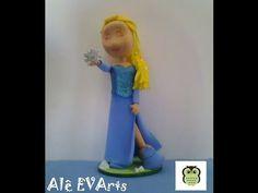 PAP Elsa em E.V.A 3D By Alê EVArts