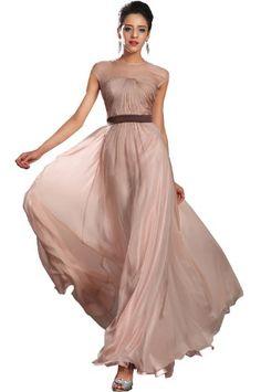 eDressit 2013 New Brown Round Neck Sleeveless Evening Dress (02131001)…