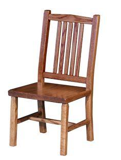 Amish Hardwood Child's Regular Mission Chair