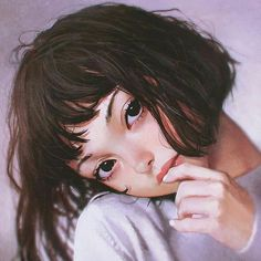 51 Girl Illustrations by Ilya Kuvshinov Ilya Kuvshinov is an Illustrator from Yokohama, Japan. Illustrations Pop, Character Illustration, Digital Illustration, Hair Illustration, Anime Body, Anime Pokemon, Kuvshinov Ilya, Fanart, Drawn Art