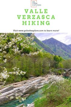Valle Verzasca hiking can be one of the best activities you can do in Ticino canton in Switzerland. Places In Switzerland, Visit Switzerland, Hiking Guide, Hiking Trails, European Destination, European Travel, Europe Travel Tips, Travel Destinations, Visit France