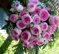 ROMANTIC BOUQUET PINK ROSES